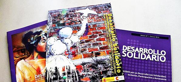 Revista MODES Desarrollo Solidario, Tercera Edición.