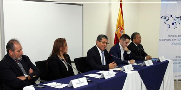 """Diplomado """"Cooperación para el Desarrollo"""" Agosto 2016"""